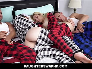 Hot Young Skinny Teen Daughters Distance Swap Fuck Their Daddy's